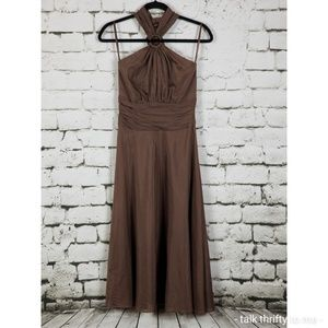 WHBM | Midi Halter Dress Size 0